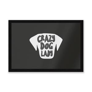 Crazy Dog Lady Entrance Mat