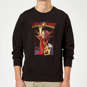 Flash Gordon Retro Movie Sweatshirt - Black