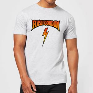 Flash Gordon Full Colour Bolt Men's T-Shirt - Grey