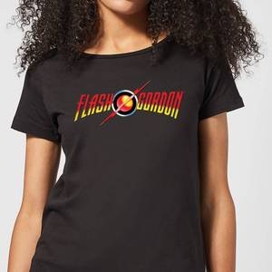 Flash Gordon Movie Logo Women's T-Shirt - Black