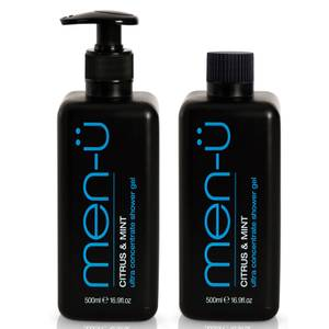 men-ü Citrus and Mint Shower Gel 500ml