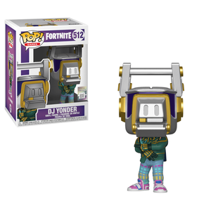 Figurine Pop! DJ Yonder - Fortnite