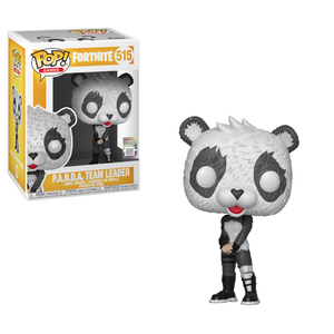 Figurine Pop! Panda Team Leader - Fortnite