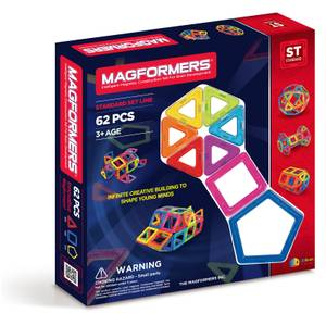 Magformers Standard Set - 62 Pieces
