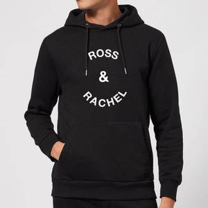 Ross & Rachel Hoodie - Black