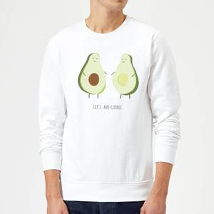 Let's Avo-Cuddle Sweatshirt - White
