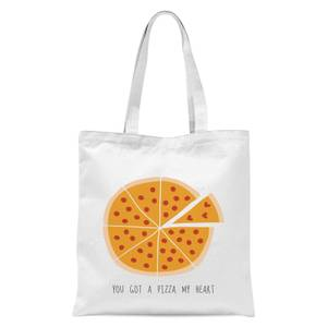 You Got A Pizza My Heart Tote Bag - White
