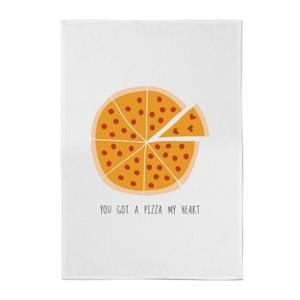You Got A Pizza My Heart Cotton Tea Towel
