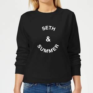 Seth & Summer Women's Sweatshirt - Black