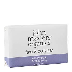 John Masters Organics Face and Body Bar 128g