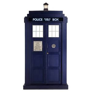 Doctor Who Tardis Mini Carboard Cut Out