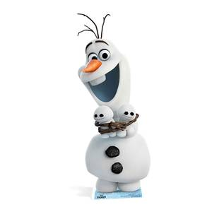 Frozen - Olaf With Friends Carboard Cut Out