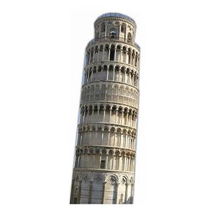The Leaning Tower of Pisa Mini Cardboard Cut Out