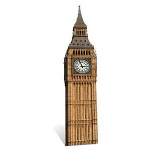 Big Ben Mini Cardboard Cut Out