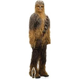 Star Wars : Les Derniers Jedi - Chewbacca - Découpe en carton à taille réelle