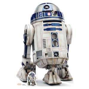 Star Wars: The Last Jedi - R2-D2 Lifesize Cardboard Cut Out