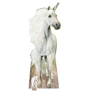 Unicorn Lifesize Cardboard Cut Out