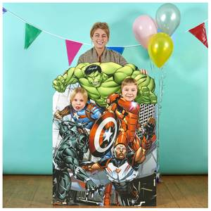 Avengers Assemble Child Size Stand In Cardboard Cut Out