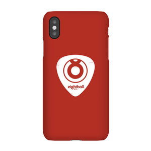 Ei8htball White Plectrum Logo Phone Case for iPhone and Android