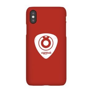 Cover telefono Ei8htball White Plectrum Logo per iPhone e Android