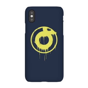 Ei8htball Spray Paint Yellow Print Phone Case for iPhone and Android
