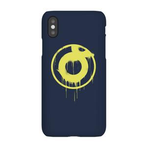 Cover telefono Ei8htball Spray Paint Yellow Print per iPhone e Android