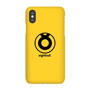 Cover telefono Ei8htball Large Circle Logo per iPhone e Android