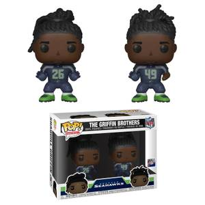 NFL Griffin Brothers 2-Pack Figura Funko Pop! Vinyls