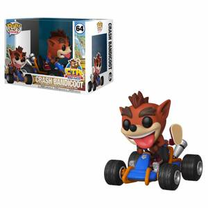Crash Team Racing - Crash Bandicoot Pop! Ride Figur