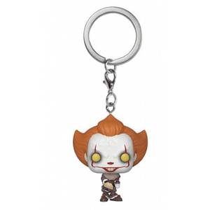 IT Chapter 2 Pennywise with Beaver Hat Pocket Funko Pop! Keychain