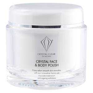 Crystal Clear Crystal Face and Body Polish 150ml