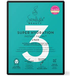 Seoulista Beauty Super Hydration Multi Pack 3's