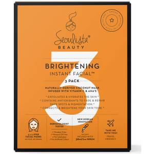 Seoulista Beauty Brightening Multi Pack 3's
