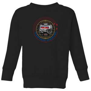 Captain Marvel Pager Kids' Sweatshirt - Black