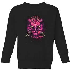 Captain Marvel Neon Goose Kids' Sweatshirt - Black