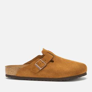 Birkenstock Men's Boston Suede Mules - Mink