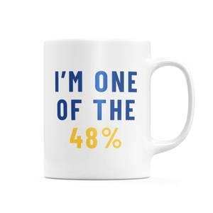 I'm One Of The 48% Mug
