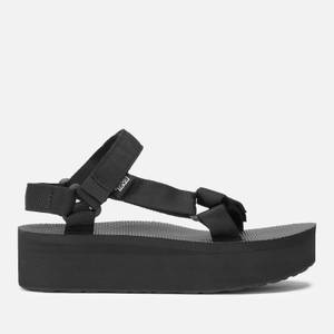 Teva Women's Universal Flatform Sandals - Black
