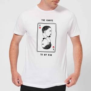 The Kanye To My Kim Men's T-Shirt - White