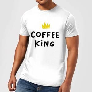Coffee King Men's T-Shirt - White