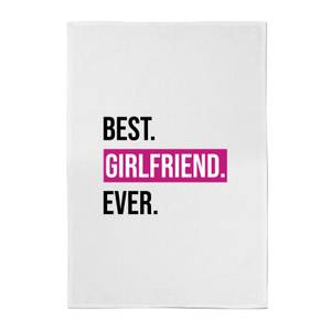 Best Girlfriend Ever Cotton Tea Towel