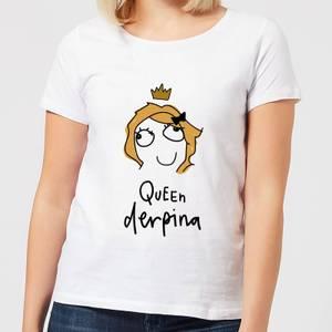 Queen Derpina Women's T-Shirt - White