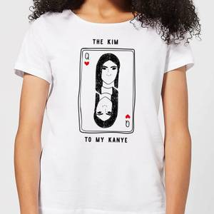 The Kim To My Kanye Women's T-Shirt - White