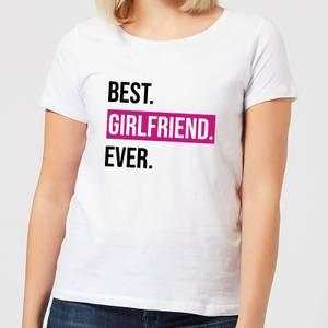 Best Girlfriend Ever Women's T-Shirt - White