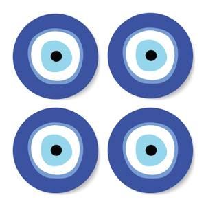 Evil Eye Coaster Set
