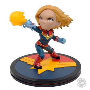 Quantum Mechanix Marvel Captain Marvel Q-Fig Diorama