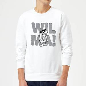 The Flintstones WILMA! Sweatshirt - White