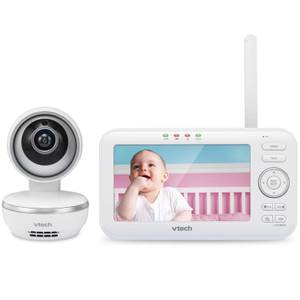 "Vtech Safe & Sound 5"" Pan and Tilt Video Baby Monitor - VM5261"