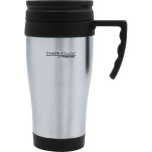 Thermos ThermoCafe 2001 Steel Travel Mug - 400ml