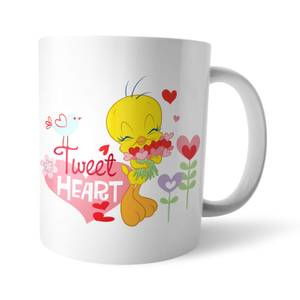 Looney Tunes Tweet Heart Tweety Pie Mug
